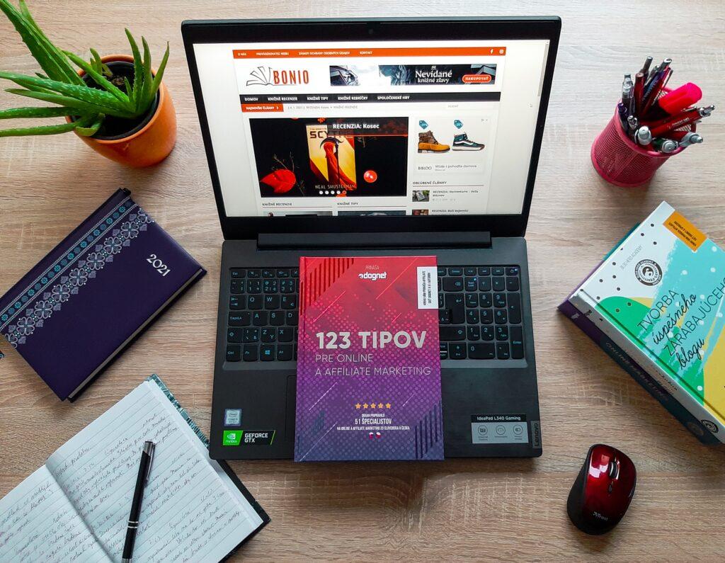 123 tipov pre online a affiliate marketing - recenzia