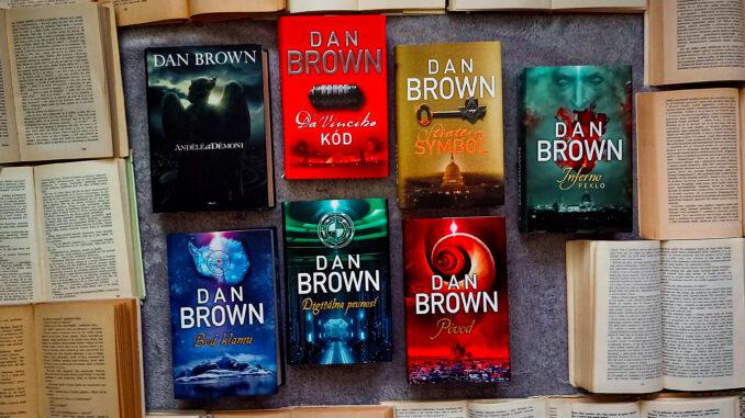 Knihy Dana Browna zoradené od najhoršej po najlepšiu